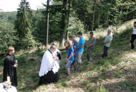 Nabożeństwo w Leśnym Kościele