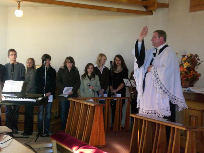 Nabożeństwa młodzieżowe w Jasienicy i Jaworzu
