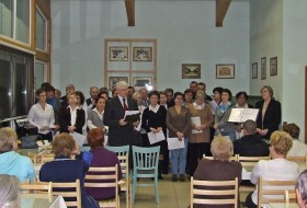 Koncert w sanatorium w Jaworzu