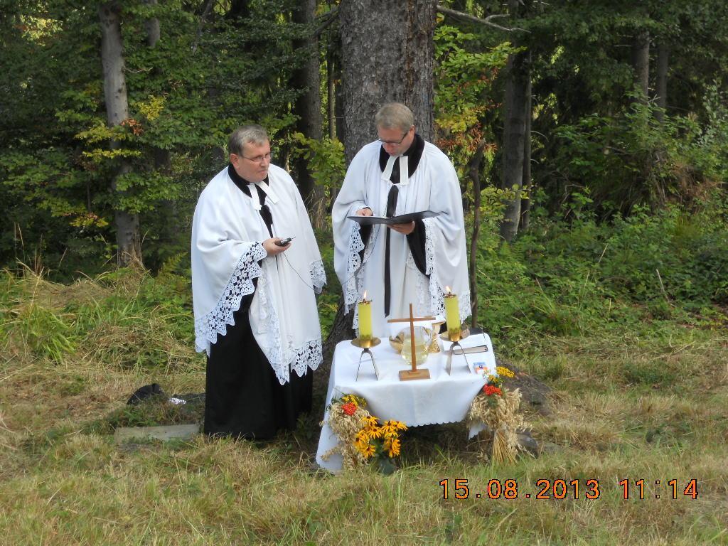 Nabożeństwo w Kościele na Polanie