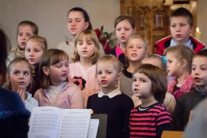 Gwiazdka dzieci z Jasienicy i Świetoszówki 2013