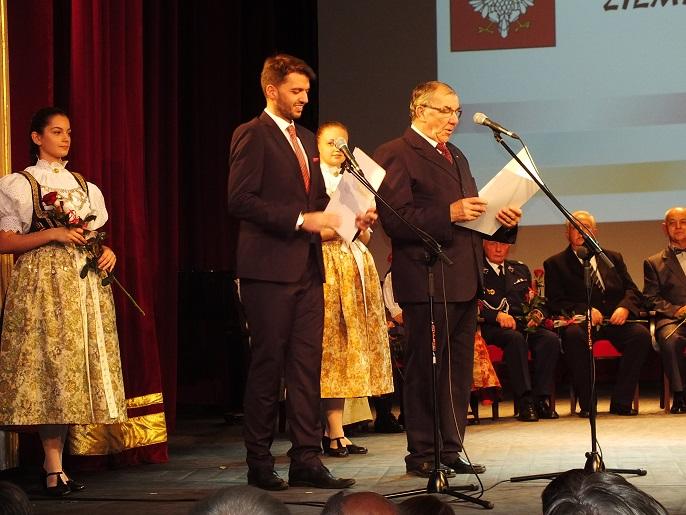 Laur Srebrnej Cieszynianki dla Pani Eryki Binek-Pytlowany