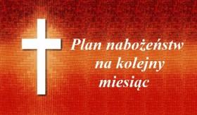 Plan nabożeństw Luty 2015
