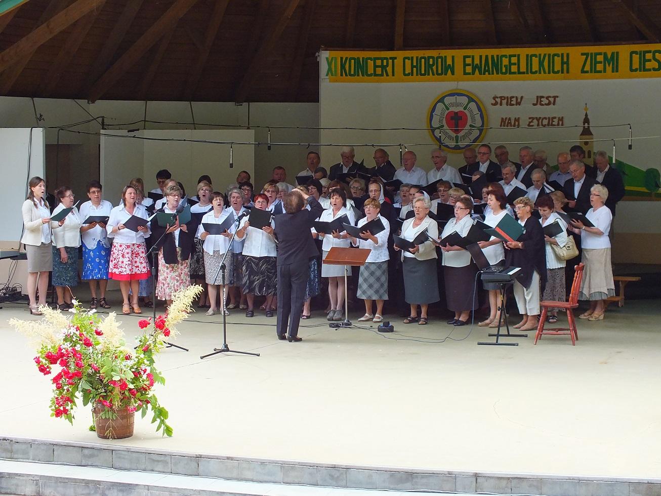 Międzynarodowy Koncert Ewangelickich Chórów Ziemi Cieszyńskiej 20.06.2015