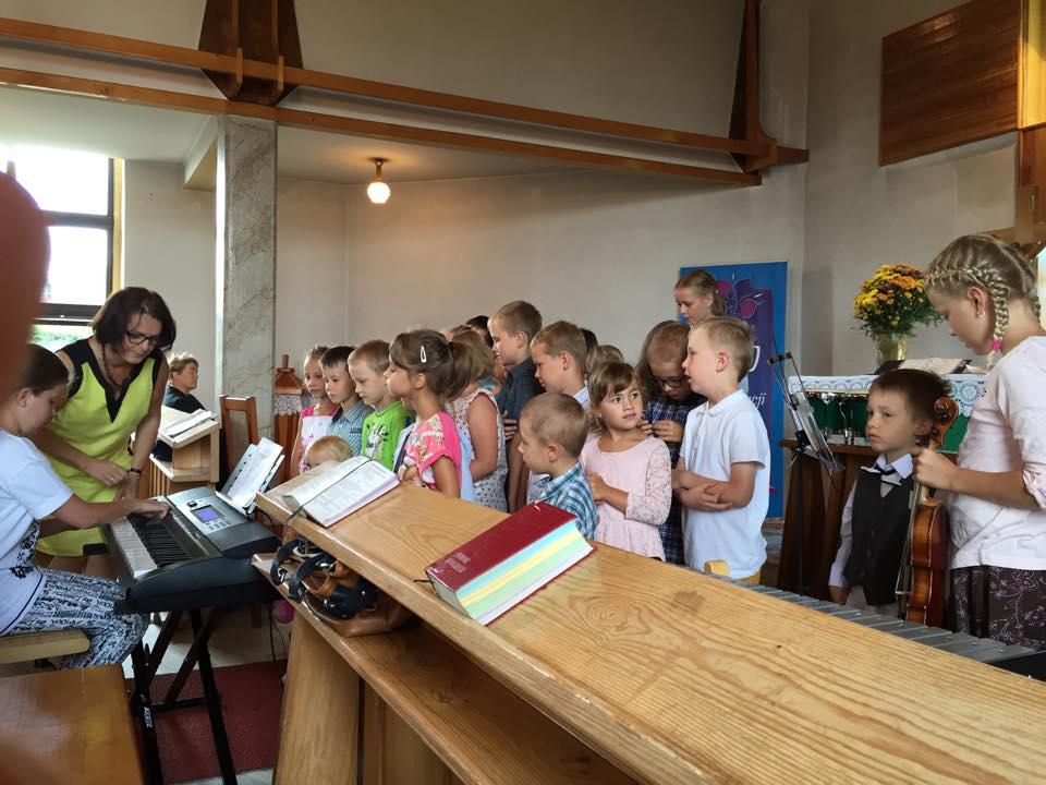 Półkolonia dla dzieci w Parafii Ewangelicko – Augsburskiej 20 do 25 lipiec 2015