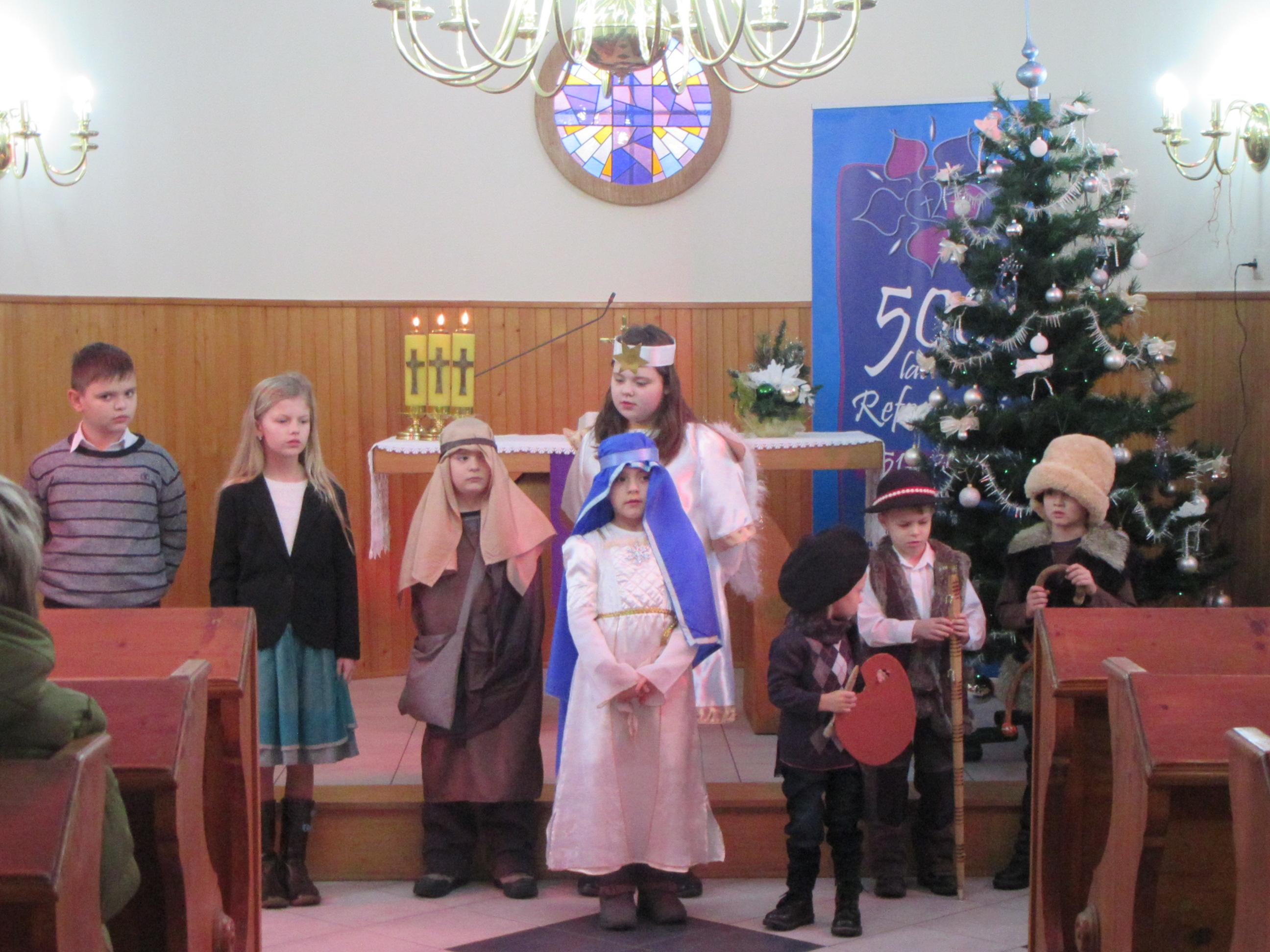 Nabożeństwo rodzinne w Świętoszówce