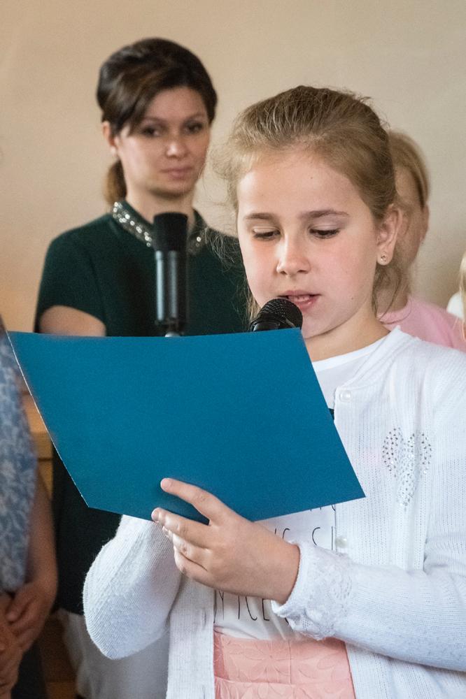 U Dobrowolskich. Nabożeństwo Rodzinne w Święto Zesłania Ducha Świętego.