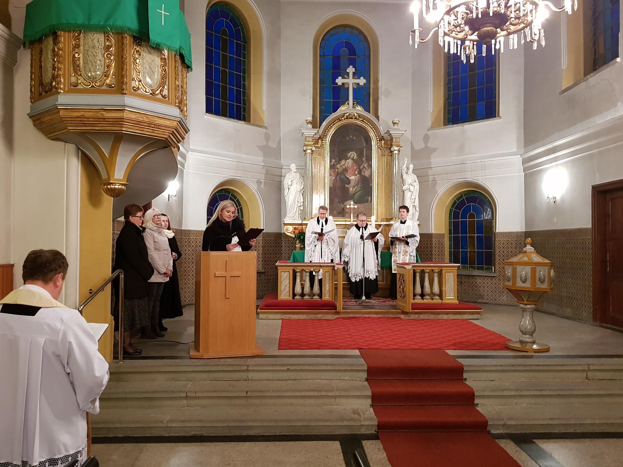 Nabożeństwo ekumeniczne 28.01.2018 r.