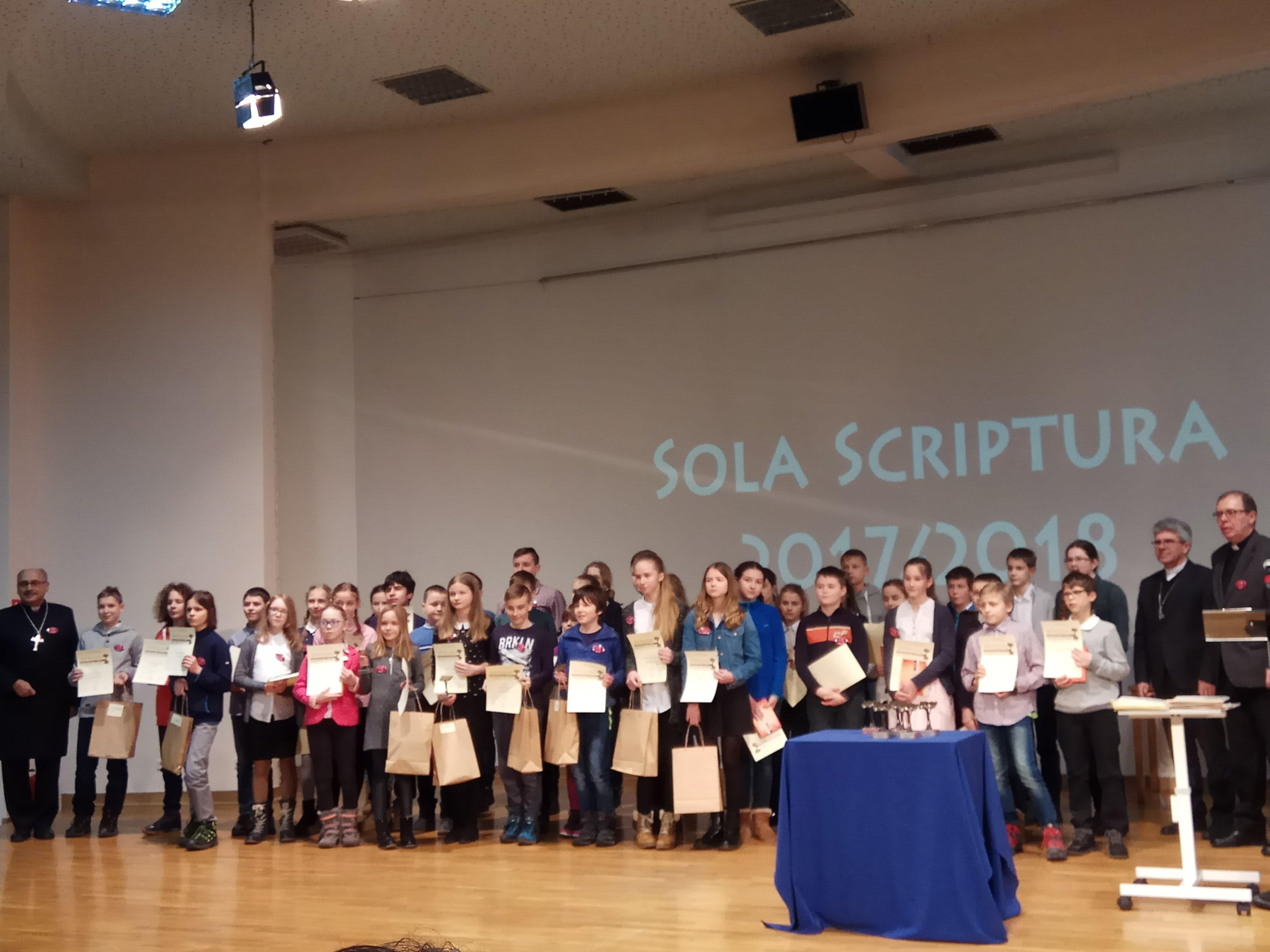 Finał Ogólnopolskiego Konkursu SOLA SCRIPTURA