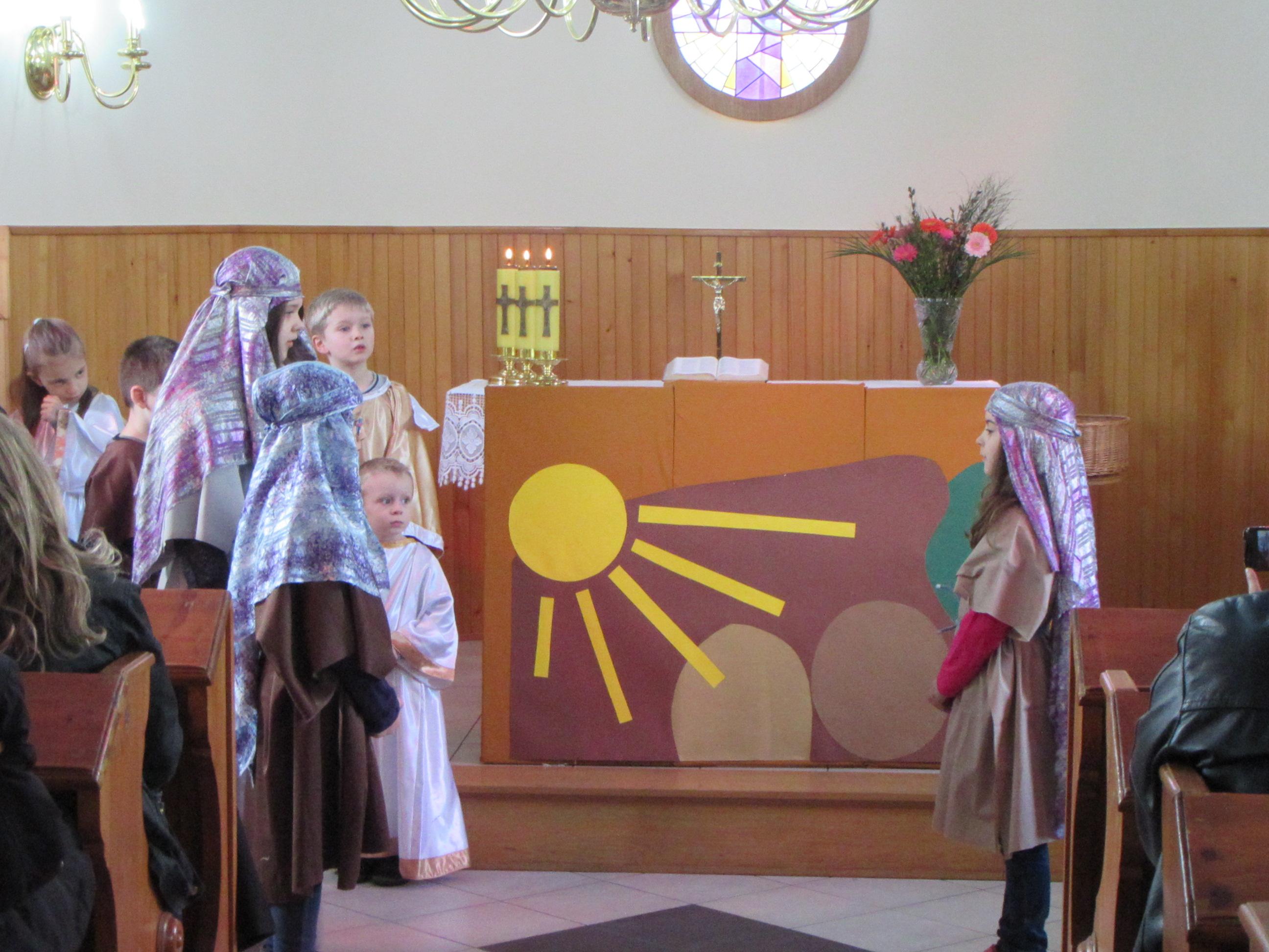 Wielkanocne nabożeństwo rodzinne