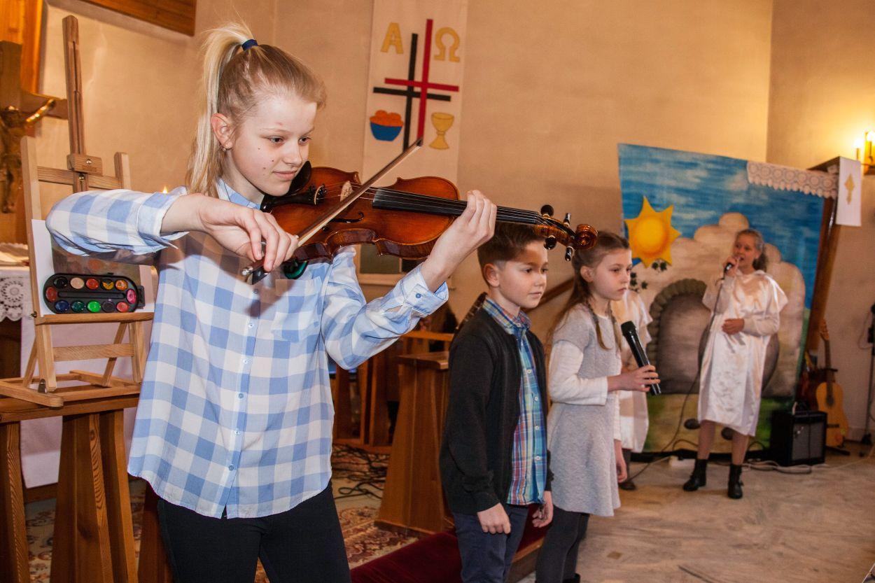 Wielkanocne nabożeństwo w Jasienicy